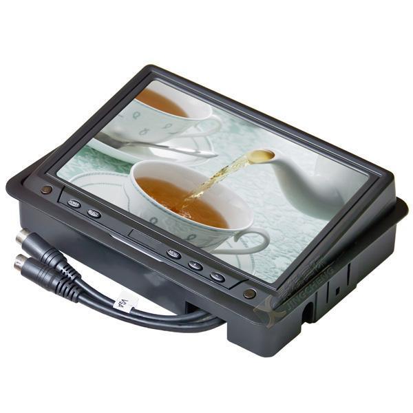 7寸車載液晶顯示器/VGA電腦接口 2