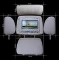 7寸车载头枕DVD带液晶显示器 3