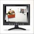 8 inches car TFT lcd monitor with AV/VGA