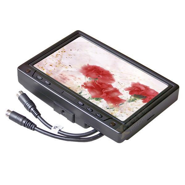 7寸车载触摸液晶显示器/VGA电脑接口 2