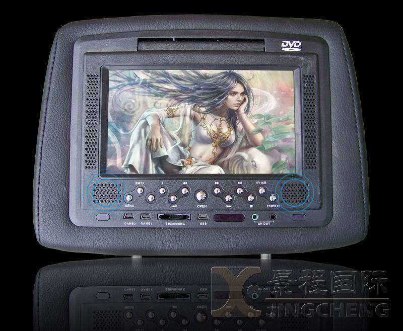 7寸车载头枕DVD带液晶显示器 4