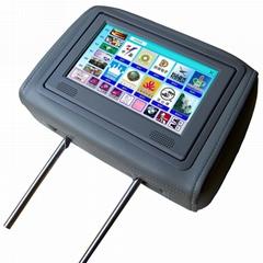 8寸头枕式FLASH触摸式互动液晶广告机