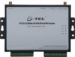 ET7136 13.56Mhz HF RFID School Bus GPRS Reader