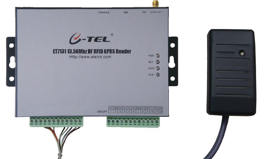 ET7131 13.56Mhz HF RFID GPRS Reader 1