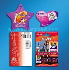 PVC card/Irregular Shape card/Abnormity card