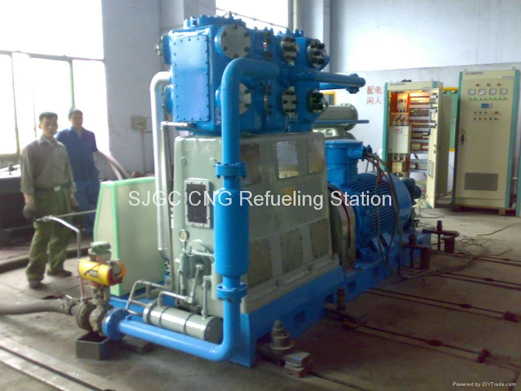 Water cooling cng compressor driven by electric motor zw for Liquid cooled ac motor
