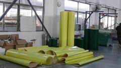 Yellow PVC belt