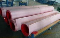 Red PVC belt
