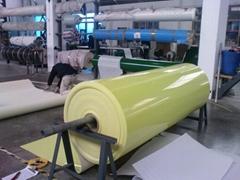 Green PVC conveyor belt(conveyor belt)