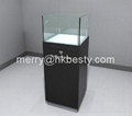 cheap jewelry trade show case,watch exhibition cube case