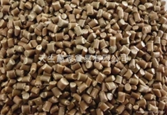 RECYCLED ORANGE PP PELELTS, INJECTION GRADE