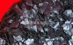 PVC regrinds,black for making sole of footwear