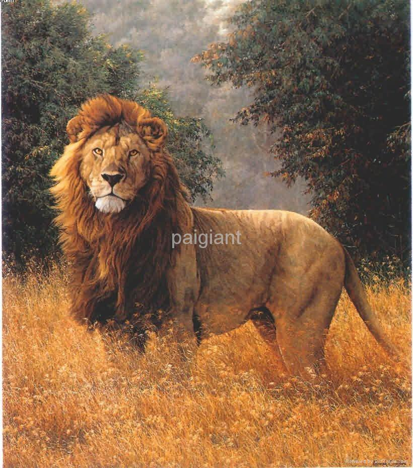 Pin famous paintingsjpg on pinterest for Animal oil paintings