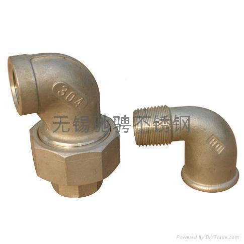 製造優質不鏽鋼絲口管件 3