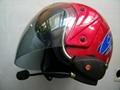 Motorcycle Helmet Bluetooth Headset, 100meters Range BT-9081 2
