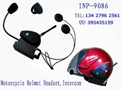 Motorcycle Helmet Intercom Headset/2km Intercom Headset