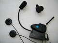 Helmet Interphone Headset 2km Interphone