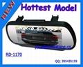 Car Rearview Mirror GPS Navigation System, Car mirror gps 2