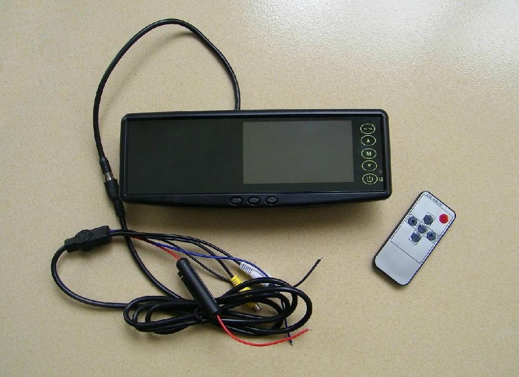Car Mirror Parking Sensor, Car Rearview Reverse Camera System 2