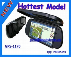 Car Rearview Mirror GPS Navigation System, Car mirror gps