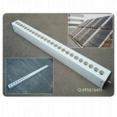 (47/58-50孔可调式不锈钢太阳能热水工程系统联箱/模块