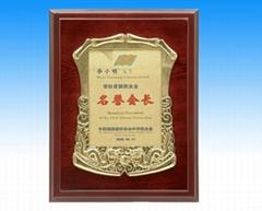 浙江宁波铜牌设计制作