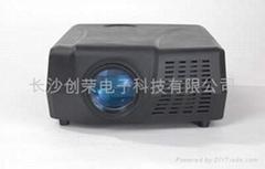 創榮GQX80SPL-AT高檔高清晰娛樂場所/家用投影機