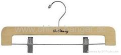 Wooden hanger & Pants Hangers & Skirt Hangers