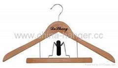 Combination Hangers -- wooden hangers