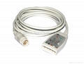 HP M1668A 5-lead AAMI & IEC Trunk Cable
