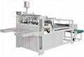Semi-automatic folder gluer machine