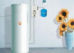 split pressure solar water heater (heat pipe solar collector)
