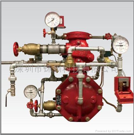 帶氣壓監測單聯鎖預作用系統  1