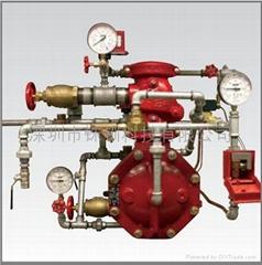 帶氣壓監測單聯鎖預作用系統