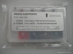 T5846 REFILLABLE INKCARTRIDGE WITH ARC