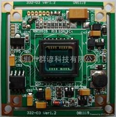 索尼CCD監控攝像機機芯