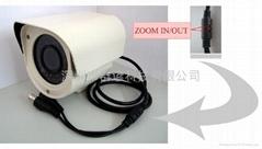 4-9mm线控电动外调焦红外防水机