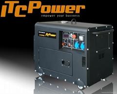 3 phase 5kw diesel generator
