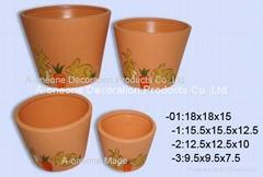 Terracotta flower pot (sc-5909)