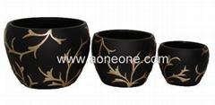 Terra cotta flower pot (sc-7948)
