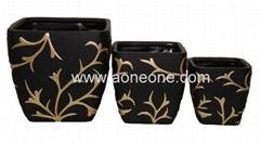 Terra cotta flower pot (sc-7947)