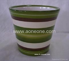 Ceramic flower pot (sc-2057)