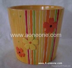 Ceramic flower pot (sc-2048)
