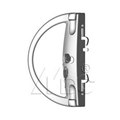 Surface Mounted Handlesets (Sliding Patio Door Lock) 1