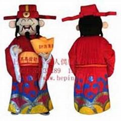 上海卡通人偶服裝/財神爺
