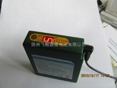 大量供应远红外智能发热衣锂电池