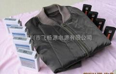 发热服装保暖衣专用锂电池