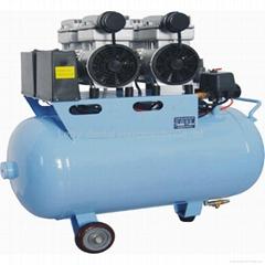 Air compressor noiseless