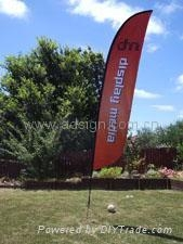 Flying Banner & Feather banner Stand