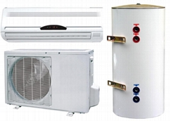 air conditioner and water heater